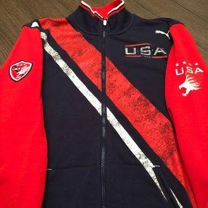 """Puma zip-up """"USA"""""""